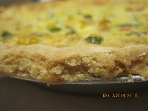 shrimp Vegetable Quiche