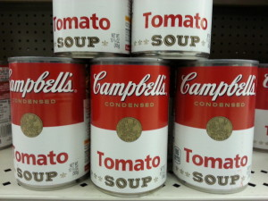 One of the first things I remember cooking was Campbell's Tomato Soup