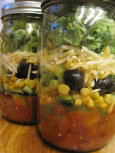 taco salad in a jar version 2
