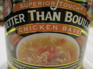 bouillon adds quick flavor