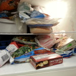 having a messy freezer makes it harder to prepare meals