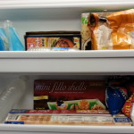 Having a place for everything makes it easier to find what you're looking for in the freezer