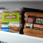 Buying foods on sale and storing them in the freezer can save money on groceries.