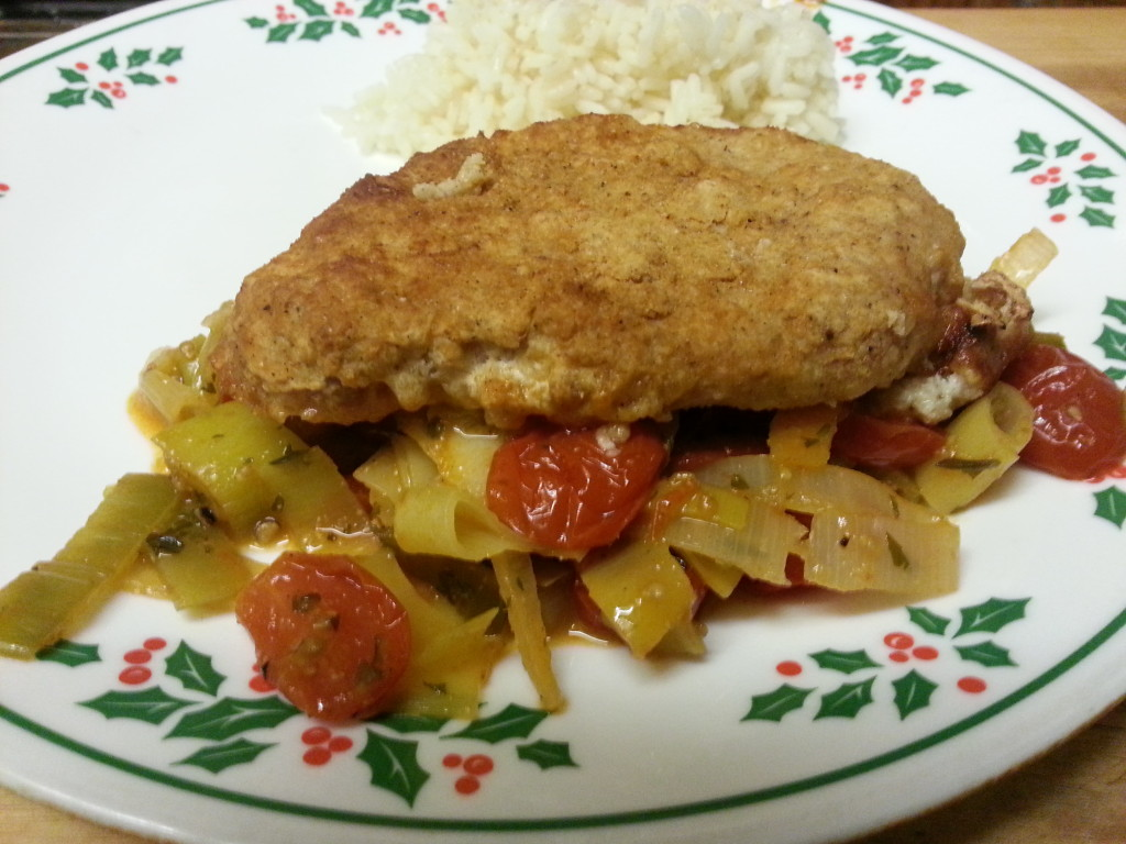 Baked Breaded Ranch Chops