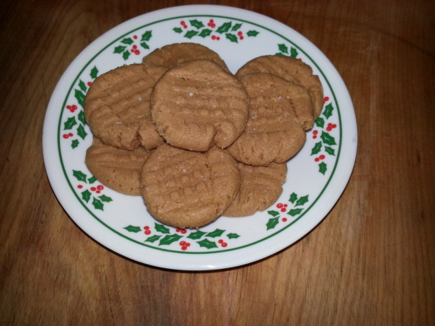 peanut butter cookies made without flour