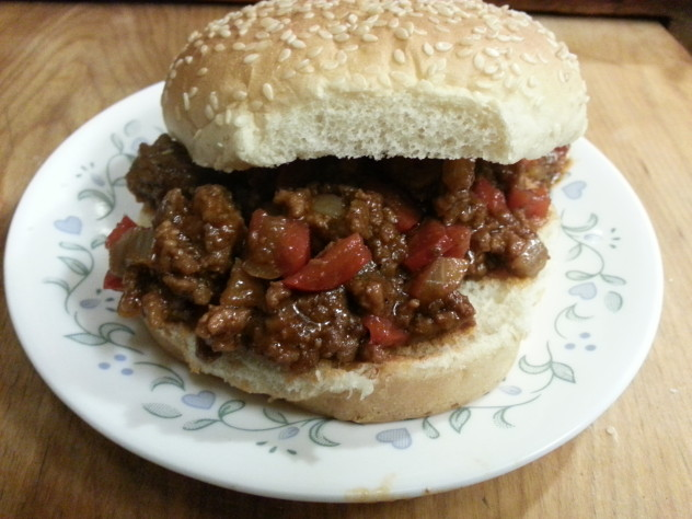 home made sloppy joes