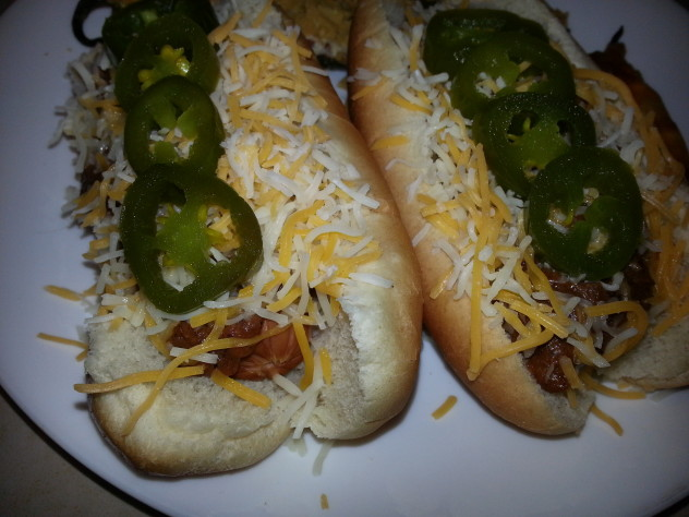 Slow Cooker Hot Dog and Chili Bar