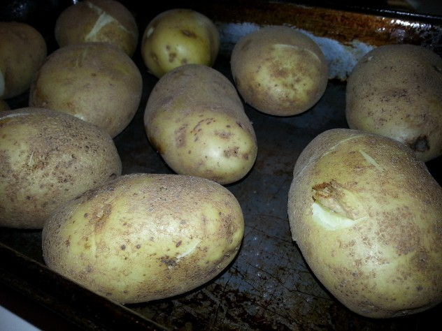 After cooking in the pressure cooker, the potatoes needed to be finished in the pressure cooker