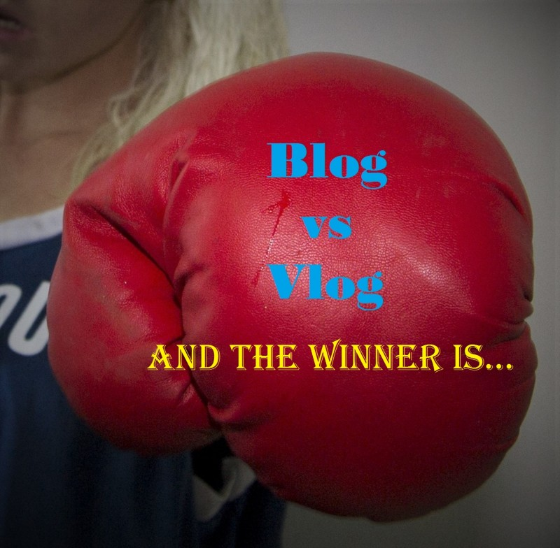 ANNOUNCING WINNER OF BLOG VS VLOG