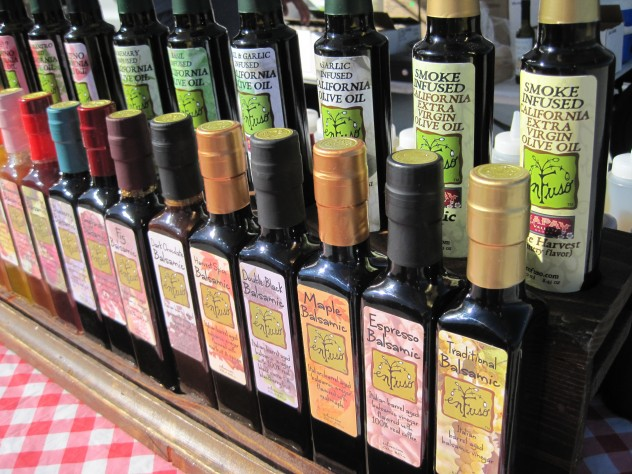 vinegars that are infused with flavors
