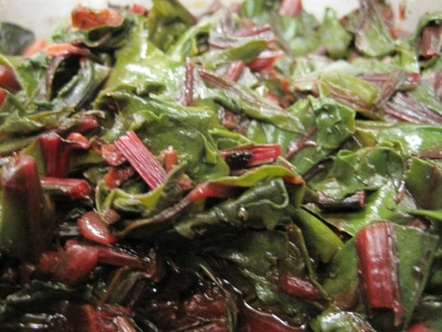 Greens from Beets