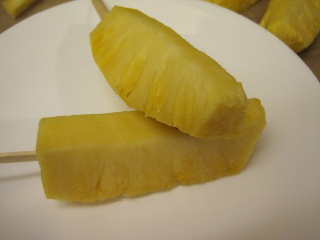 pineapple on a stick