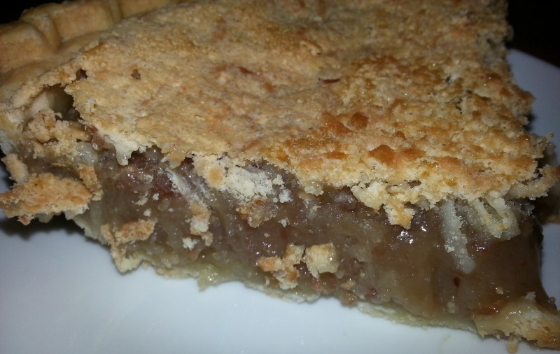 bean pie with coconut