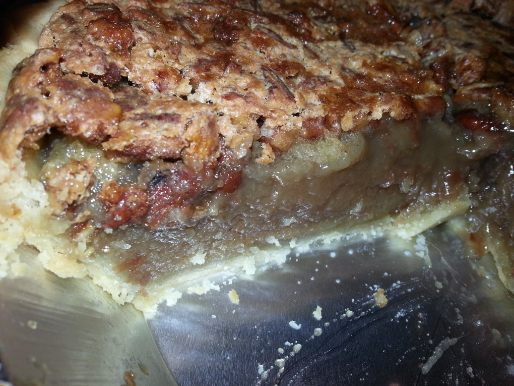 pecan pie with pinto beans looks like pecan pie. No one will guess your secret.