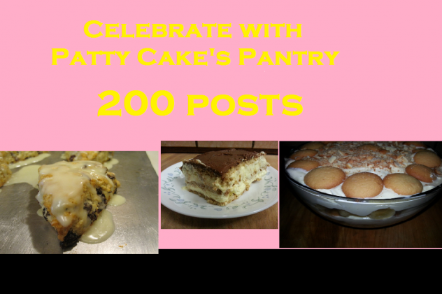 Patty Cake celebrates 200 posts