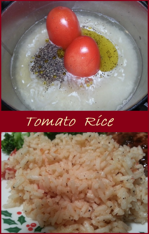 Tomato Rice--A simple, flavorful dish made from only five ingredients