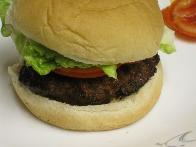 Teriyaki Burger 1