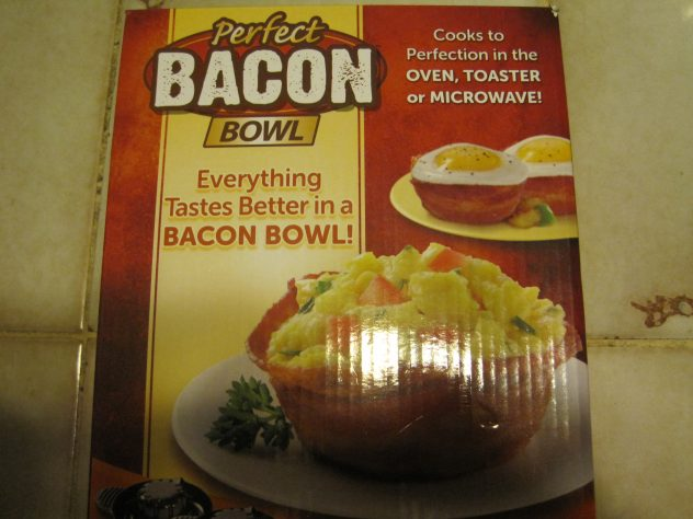 random act of generosity--the perfect bacon bowl