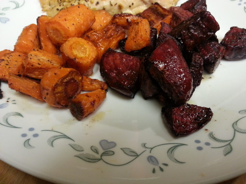 Roasted Roots Vegetables