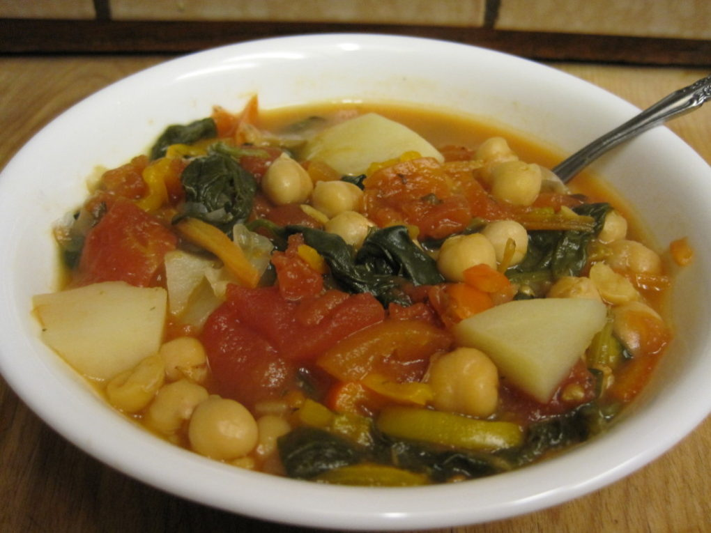 This delicious Minestrone Soup is rich, hearty, and filling.