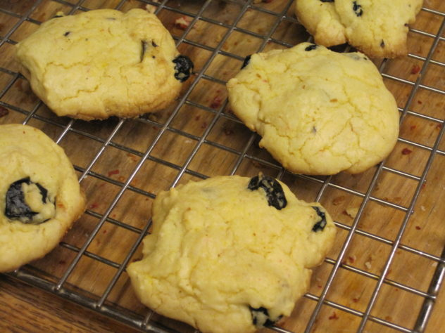 Lemon Blueberry Cake mix cookies