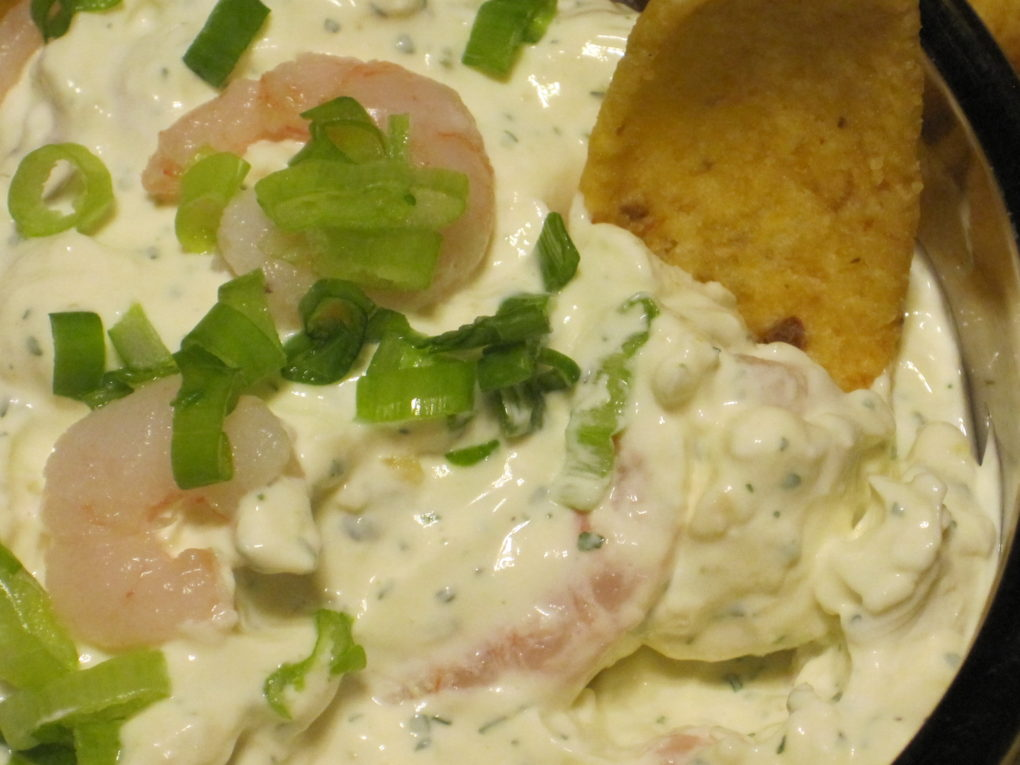 Simple and delicious Shrimp dip from 4 ingredients