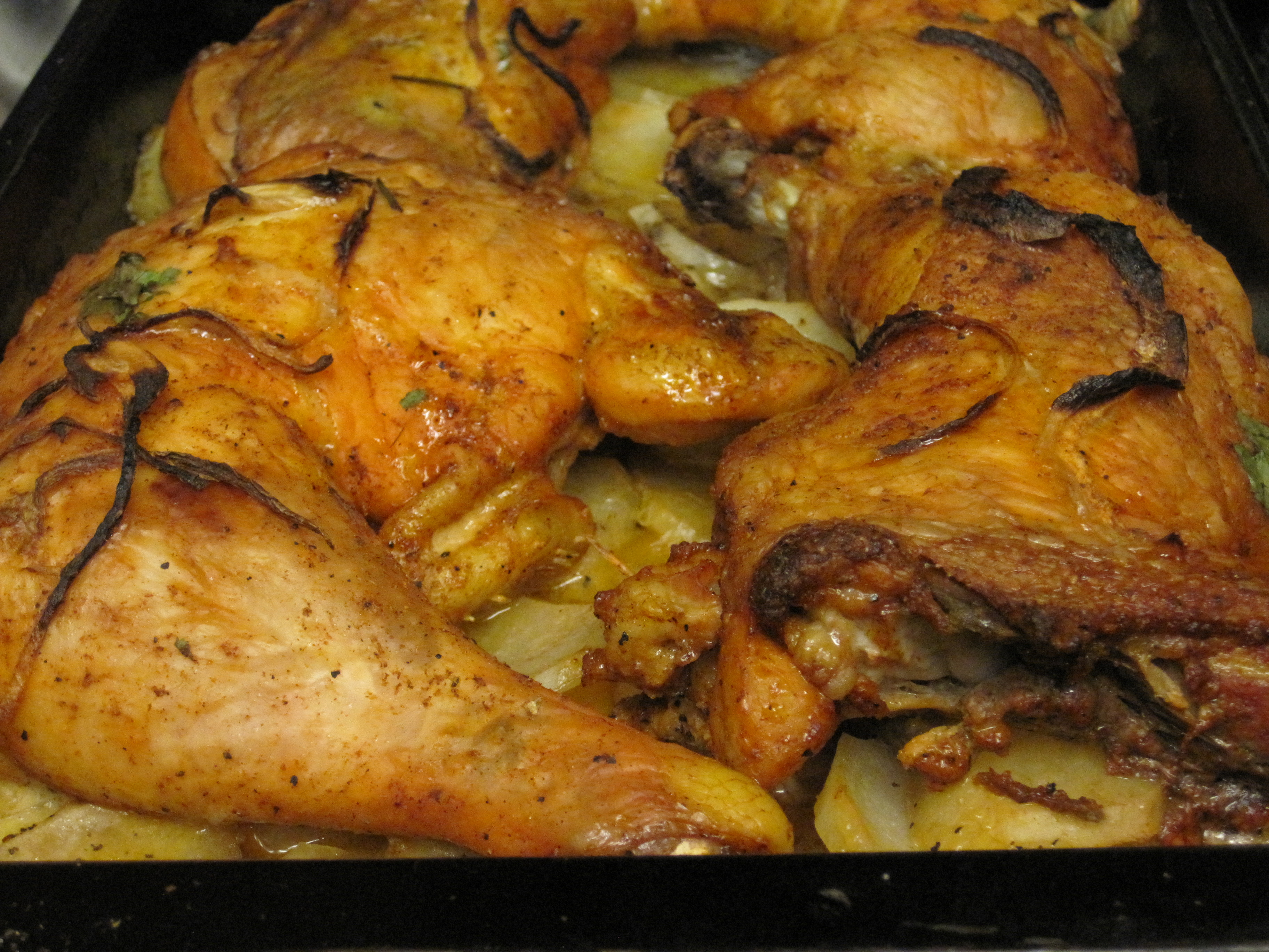Baked Chicken Recipes Thighs And Legs