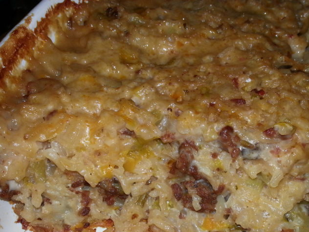 A Delicious Italian Sausage and Rice Casserole