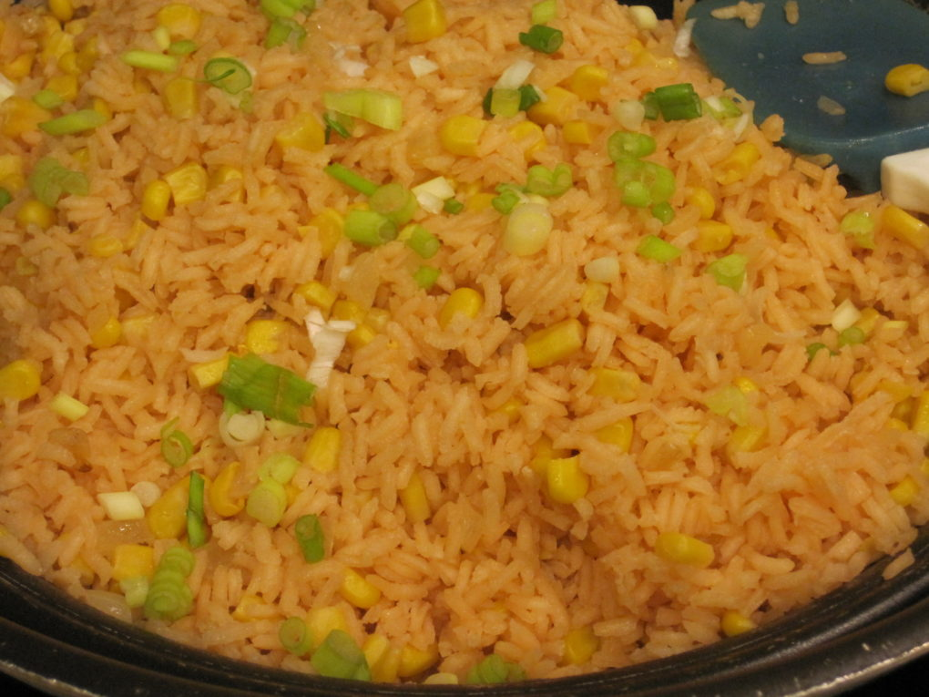 Spanish Rice with Corn