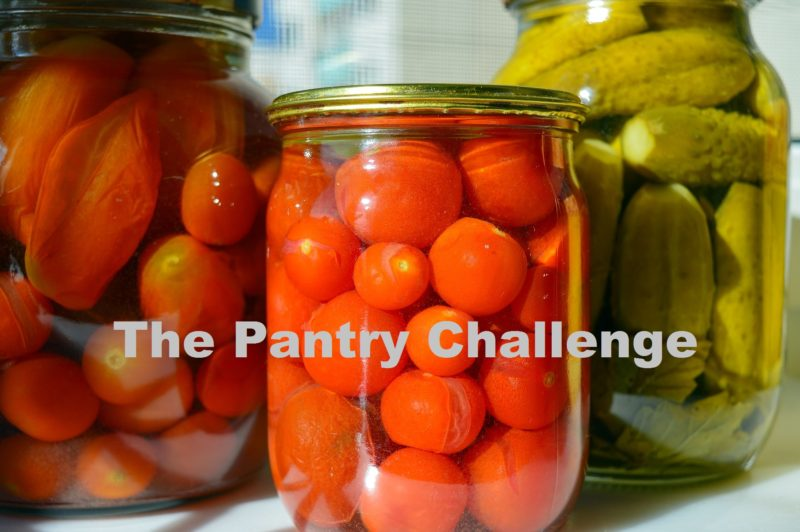 The 31 day Pantry Challenge