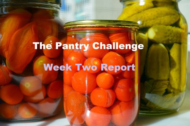 The Pantry Challenge--Week Two Report