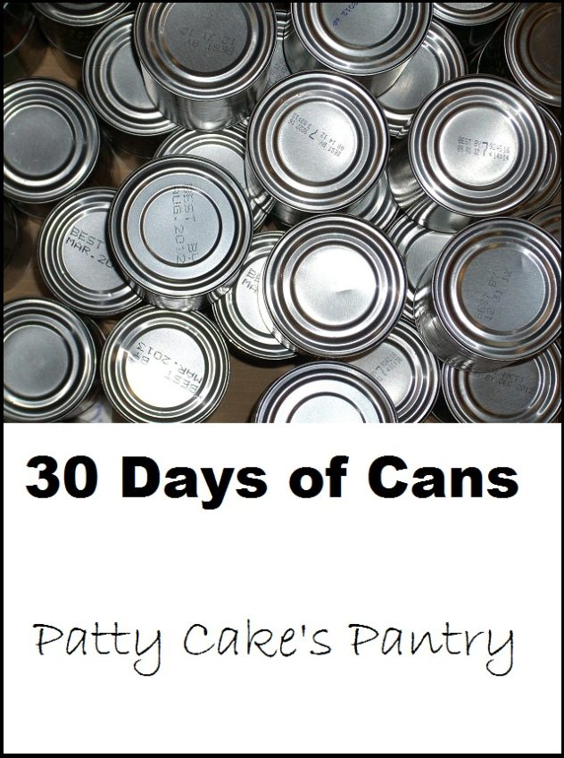30 days of cans
