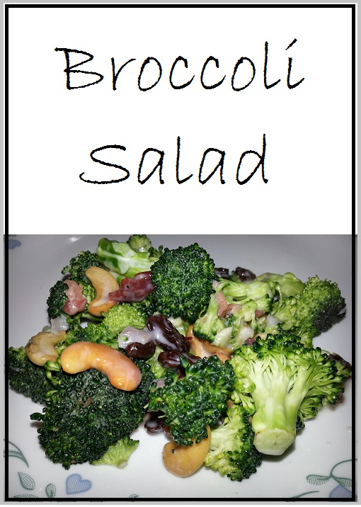 Broccoli Salad (with Bacon)