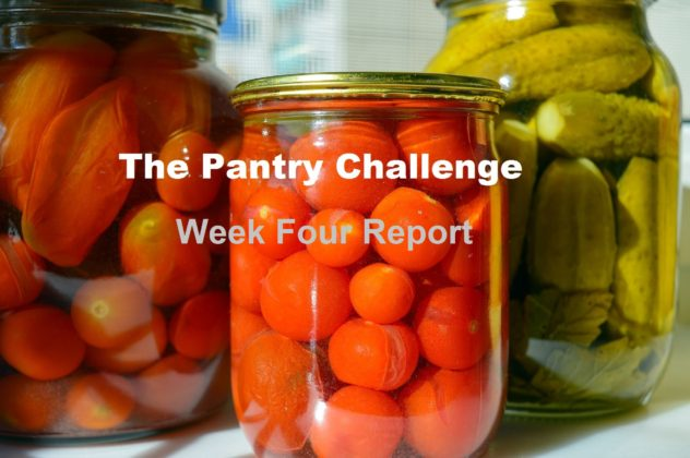 31 day pantry challenge: week 4 report