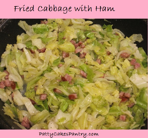 Fried Cabbage with Ham is a simple and delicious entree or side dish