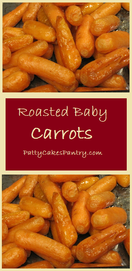 Baby Carrots are together with olive oil and salt before roasting.