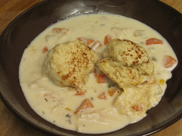 Chicken and Dumplings from Food Storage--Ready in 30 minutes.