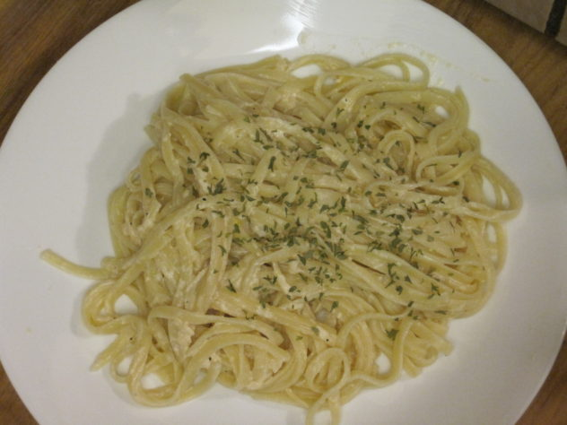 Chicken Linguine Alfredo