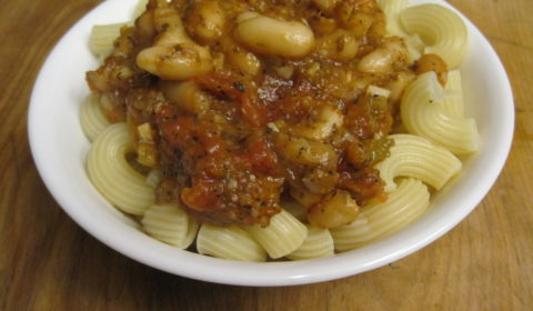 Canellini Beans and Tomatoes