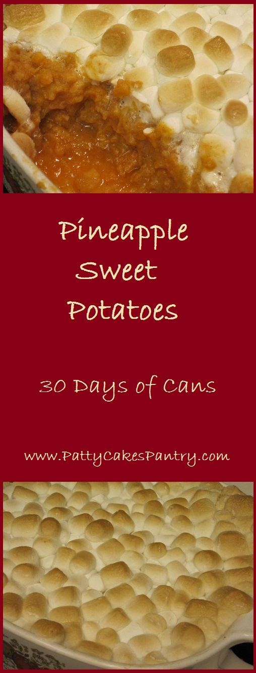 Pineapple Sweet Potatoes--Simple and tasty recipe that costs only $3.52 to make.