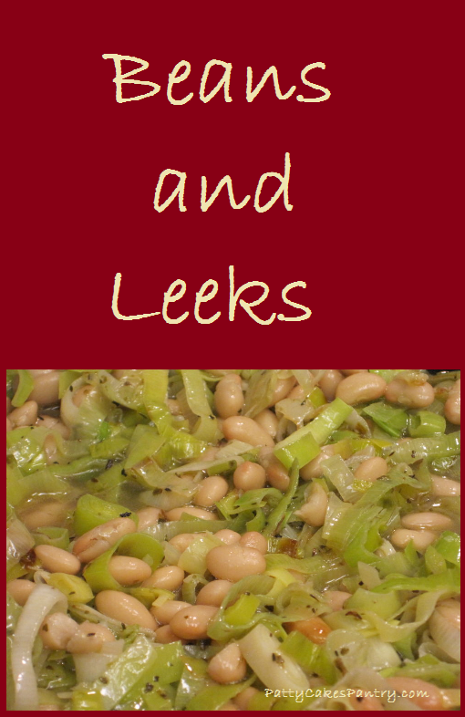 Beans and Leeks--a simple and delicious side dish for summer barbecues. Total Cost of Recipe: $3.12