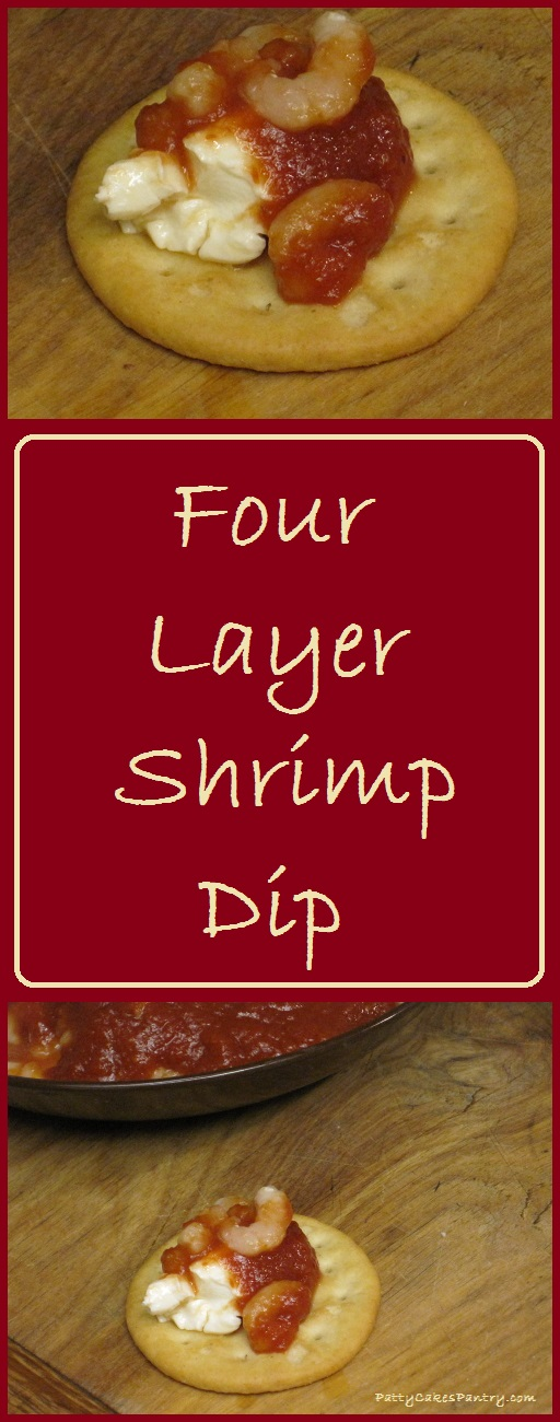 Four Layer Shrimp Dip--15 minutes start to finish. Total Cost of Recipe = $5.95