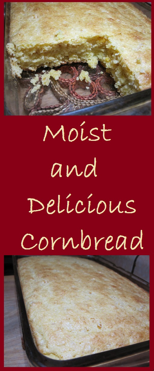 Moist and Delicious Cornbread starts with a mix. Total Cost: $2.52