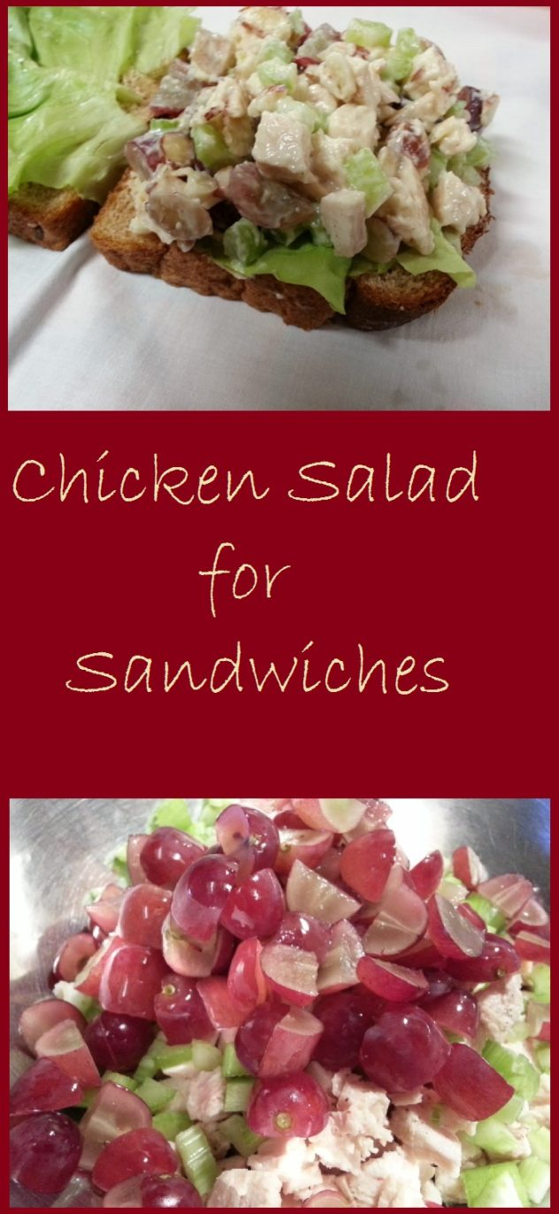 chicken salad for sandwiches