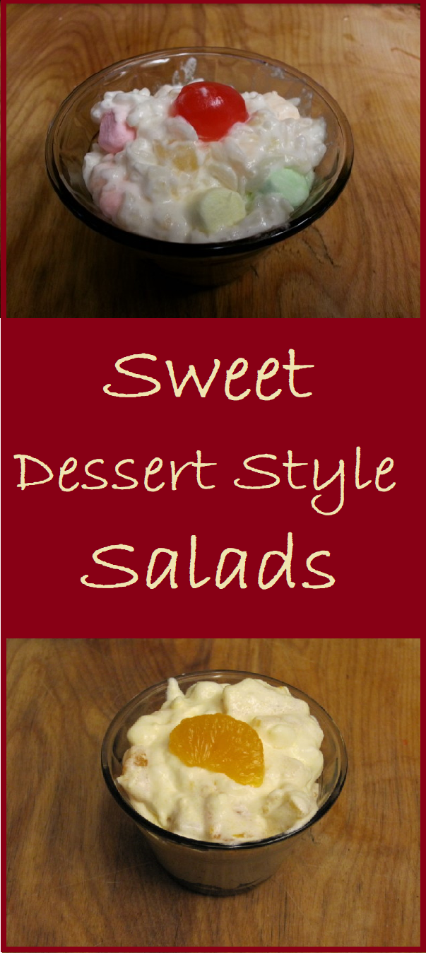 These sweet dessert style salads are the perfect accompaniment to any meal, from summer barbecue to holiday table.