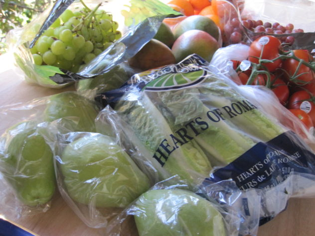 The Third $25 Grocery Haul and Menu Plan