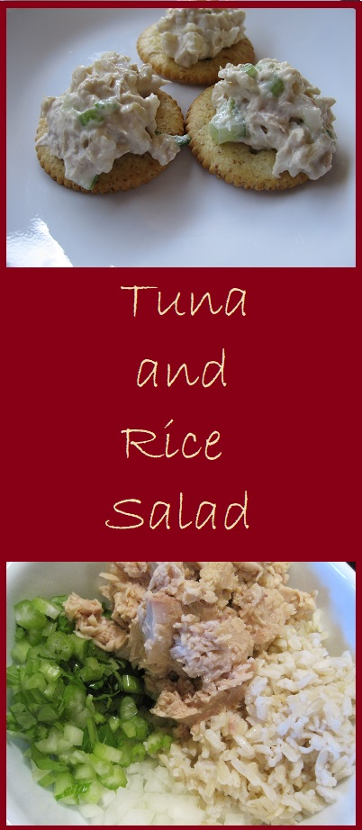 Tuna and Rice Salad--Adding rice to tuna reduces the fishy taste