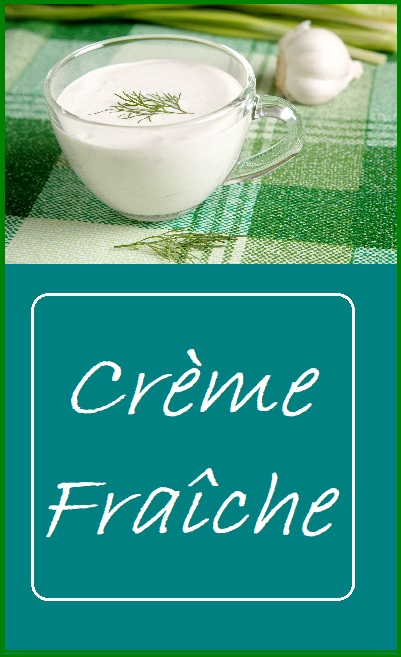 Creme Fraiche--Simple to make at home from two simple, easy to find ingredients.