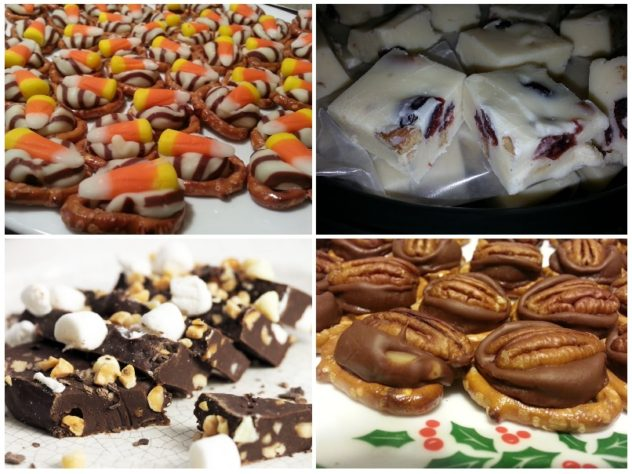 5 favorite candy recipes--These are simple to prepare and make great gifts.