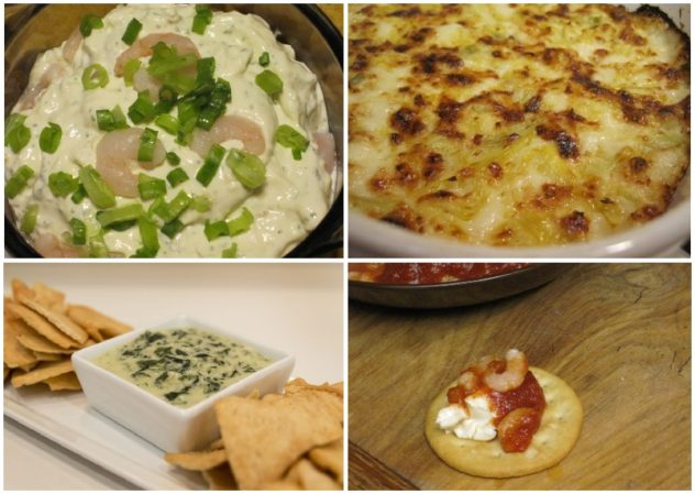 Five Dips for Entertaining--Each of these recipes is easy to make and loaded with flavor